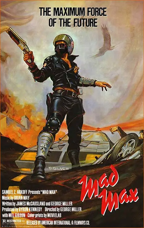 Mad Max de George Miller (1979).