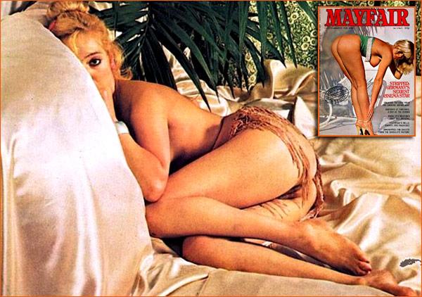 Lavinia Murray par Ed Alexander pour le magazine Mayfair de Mai 1977.