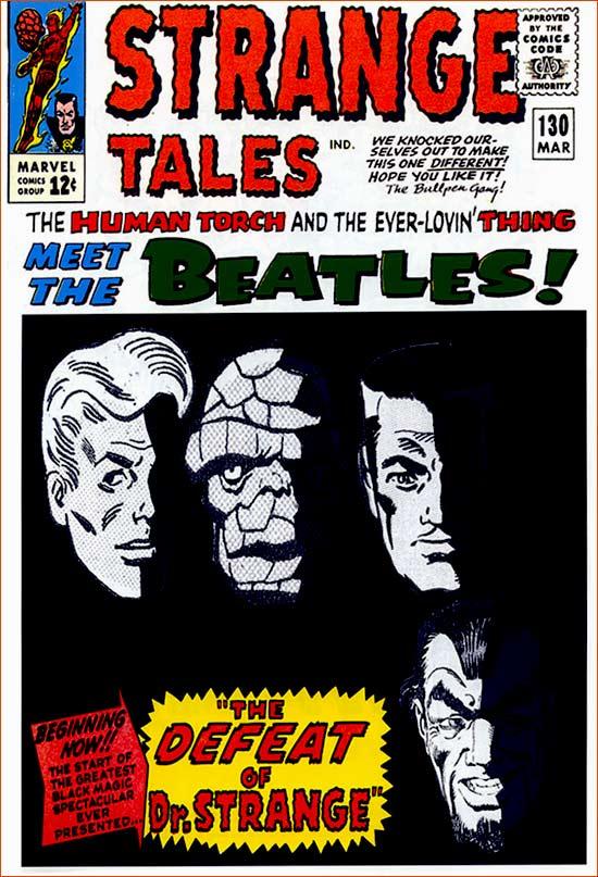 Meet the Beatles! selon Jack Kirby.