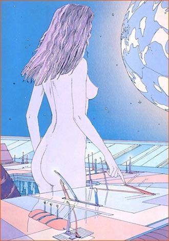 Lorraine Eve selon Mœbius.
