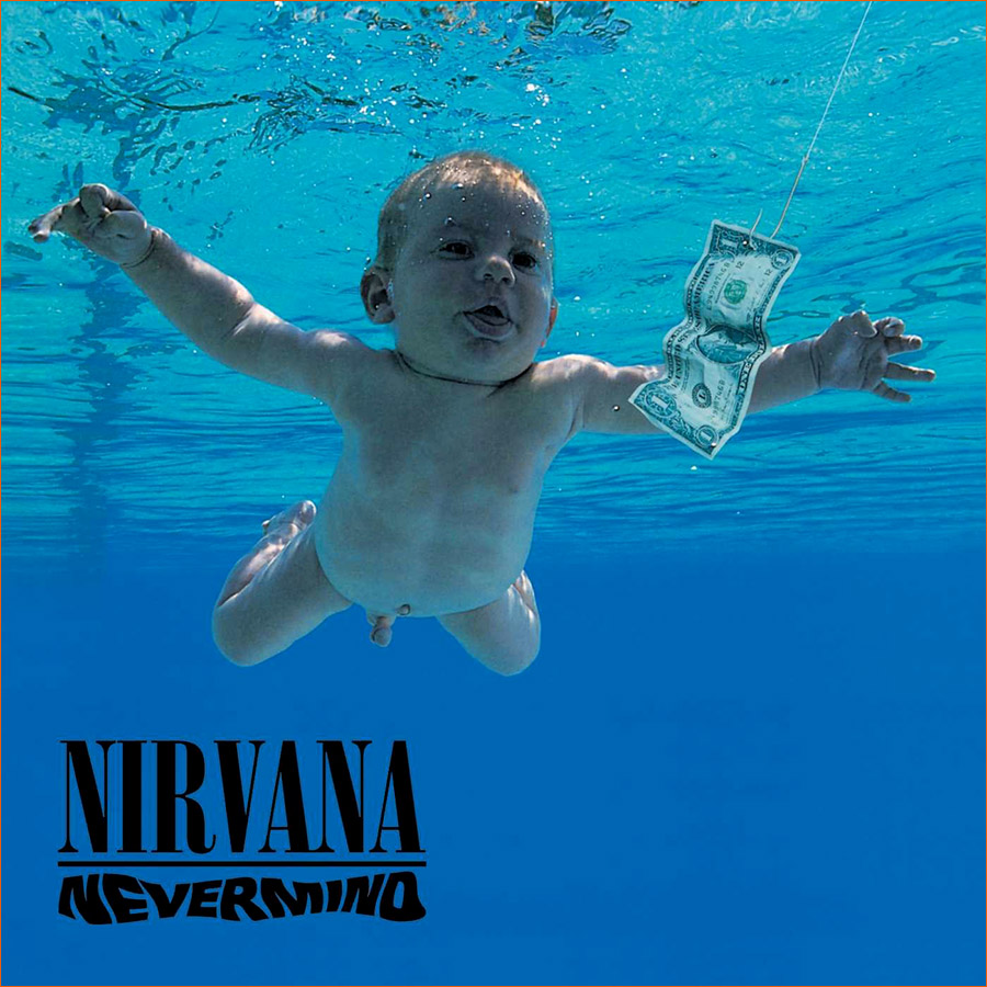 Nevermind de Nirvana (1991).