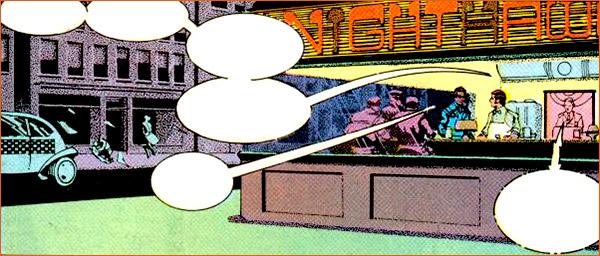 Nighthawks selon Howard Chaykin.