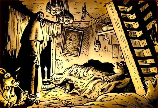 Opium smoking - The Lascar's room selon Bryan Talbot.