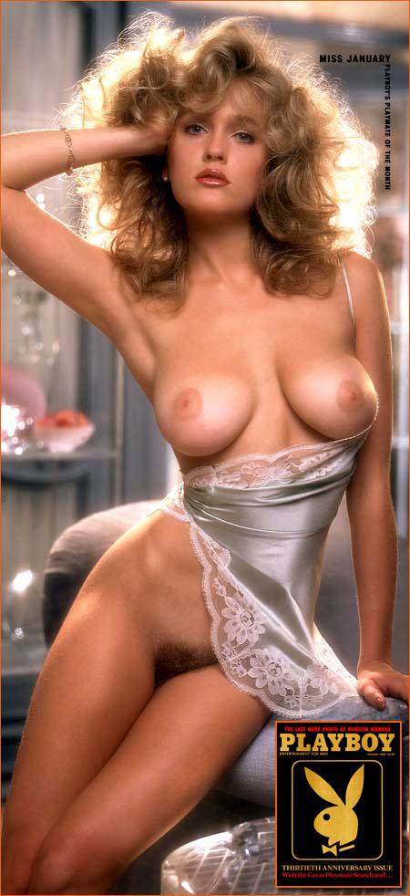 Penny Baker par Arny Freytag pour Playboy.