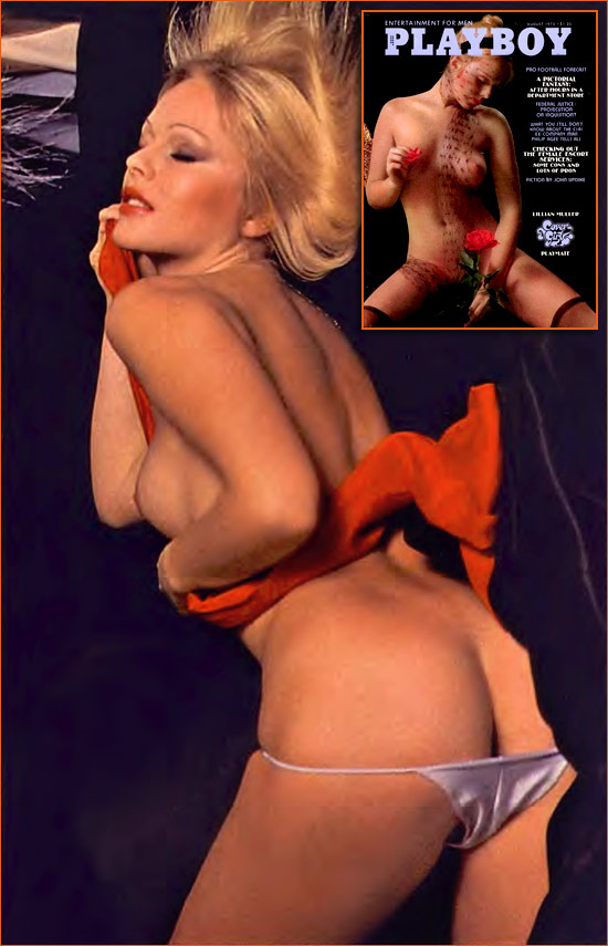 Lillian Müller par Suze Randall pour Playboy.