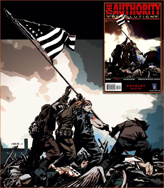 Raising the flag on Iwo Jima selon Dustin Nguyen.