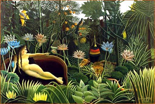 Le rêve du Douanier Rousseau.
