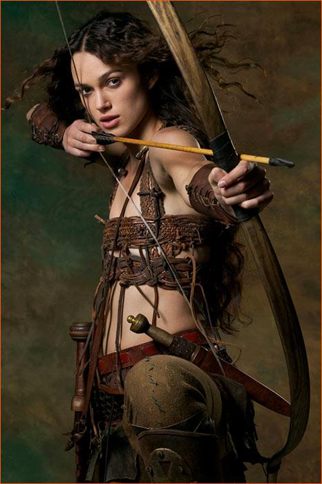 Keira Knightley alias Guenièvre dans Le roi Arthur d'Antoine Fuqua.