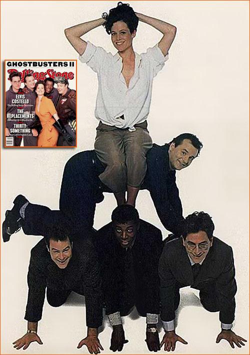 Casting Ghostbusters 2 par Timothy White pour le magazine RollingStone.