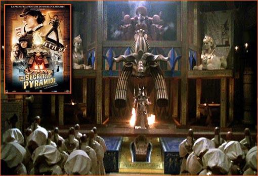Le secret de la pyramide de Barry Levinson.