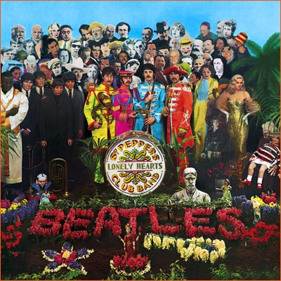 Sgt. Pepper's Lonely Hearts Club Band des Beatles.