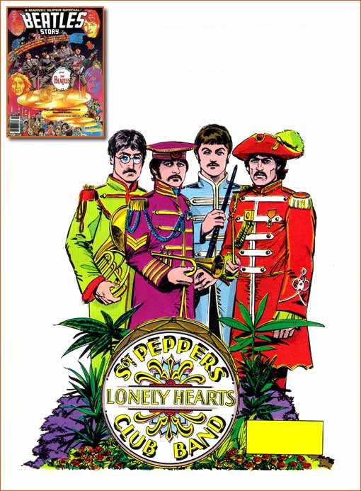 Sgt. Pepper's Lonely Hearts Club Band selon Klaus Janson.