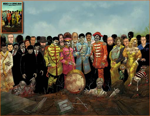 Sgt. Pepper's Lonely Hearts Club Band selon Mike Wolfer.