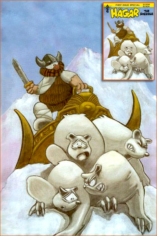 The silver warrior selon Chris Browne.
