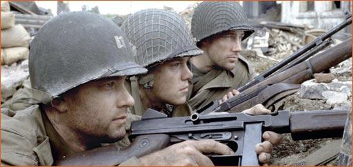 Il faut sauver le soldat Ryan de Steven Spielberg.
