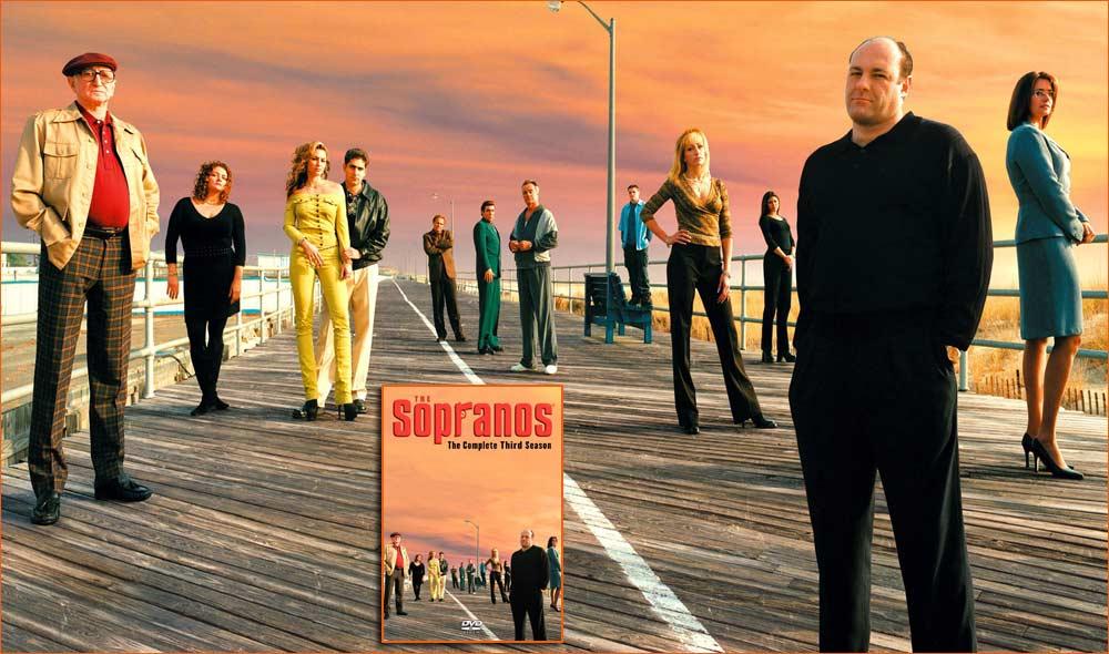 Les Soprano - Saison 3 de David Chase.