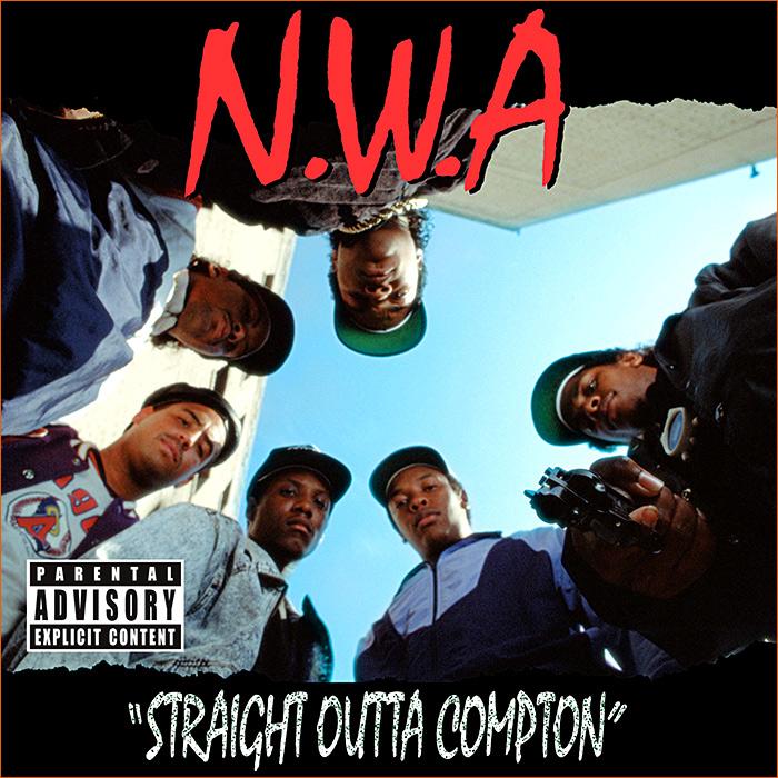 Straight outta Compton de N.W.A (1988).