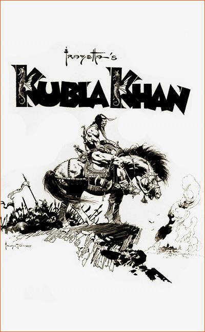 Kubilaï Khan II de Frank Frazetta