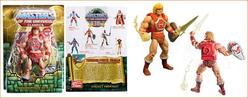 Figurine Thunder Punch He-Man (Mattel).
